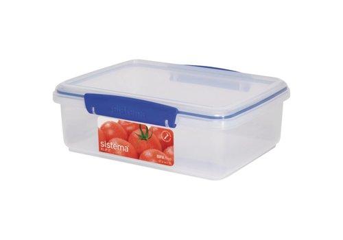 HorecaTraders Lebensmittel Karton Kunststoff (2 Liter)