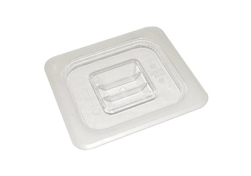 Vogue Plastic gastronorm bakken 1/2 deksel