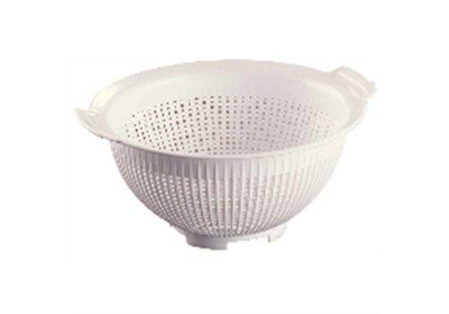 Araven Kunststoff-Sieb (weiß) | 24 cm Ø