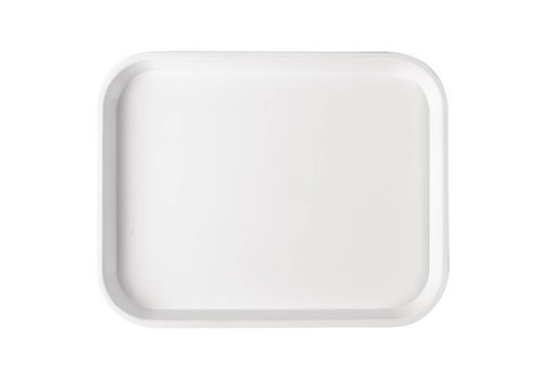 HorecaTraders Plastic tray White | 5 Formats