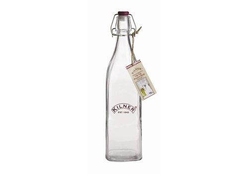 HorecaTraders Kilner Flasche mit Bügelverschluss 1 Liter