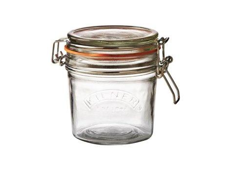 HorecaTraders Kilner glazen weckpot / voorraadpot met beugelsluiting, 0,5 l