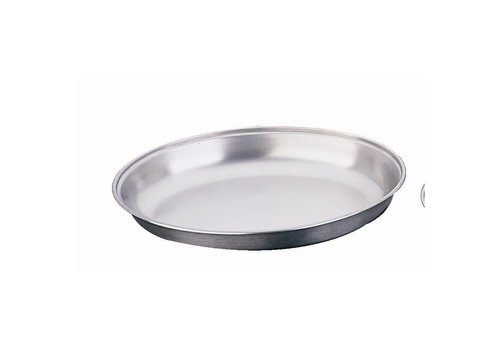 HorecaTraders Stainless steel oval dekschaal | 6 Formats