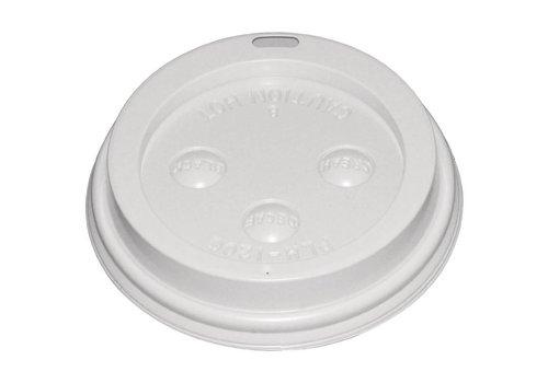HorecaTraders Koffiebeker 34/45 cl deksel (50 stuks)