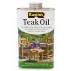 HorecaTraders Teak oil suitable for furniture - 1 liter