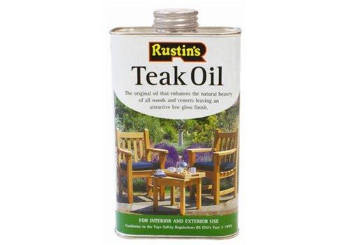 HorecaTraders Teak-Öl geeignet für Möbel - 1 Liter