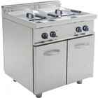 Saro Electric fryer with chassis 2 x 17 Liter