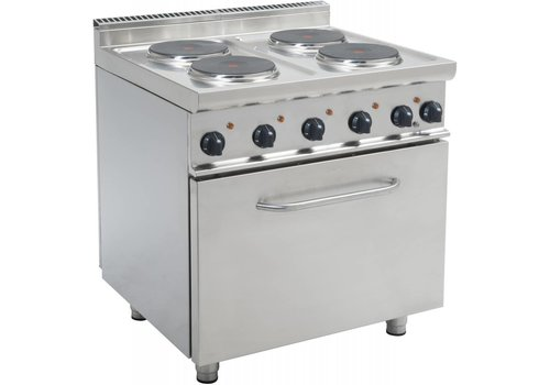 Saro Elektrische kookplaat met oven | 4 kookplaten