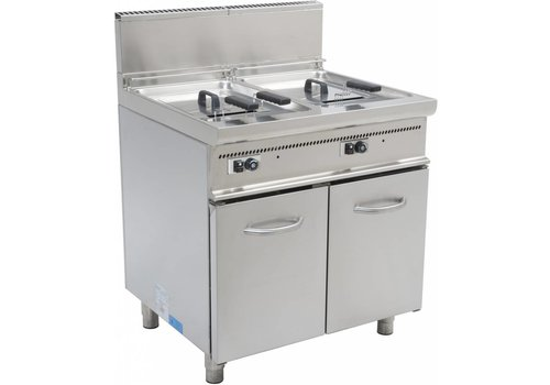 Saro Gasfritteuse with Mount 2 x 17 - HEAVY DUTY