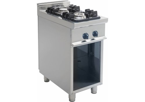 Saro Stove with Open Frame 12kW | 2 Burners
