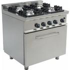 Saro Professional gas range with gas oven | 4 Burners