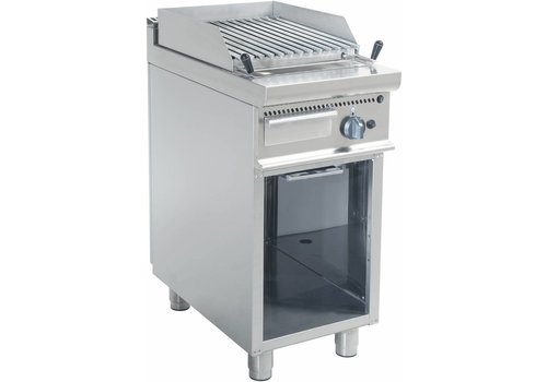 Saro Lava Stone grill with legs