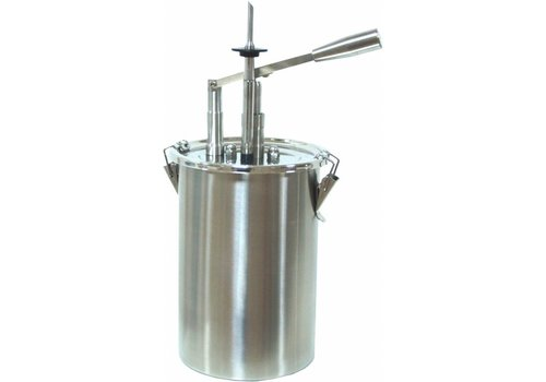 Saro Pastry Sauce Pumpe 5 Liter