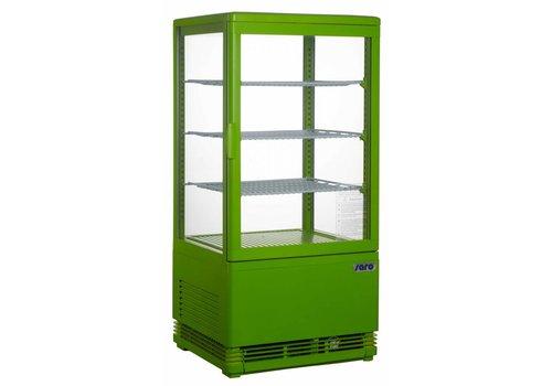 Saro Koelvitrine Green 70 Liter