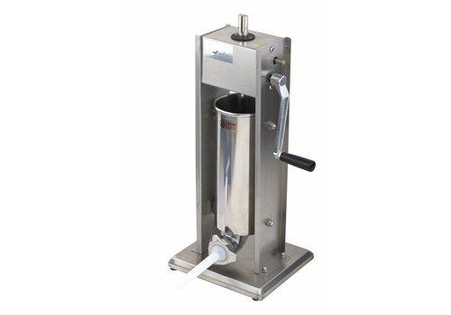 Saro Professional Worstenvulmachine- 5 liters