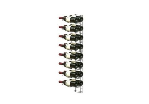 HorecaTraders Weinpräsentation Rack - 16 Flaschen
