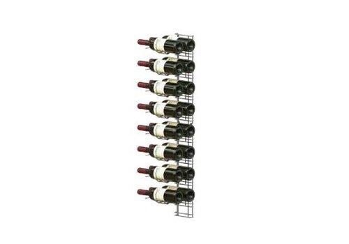 HorecaTraders Wine Presentation Rack - 16 Bottles