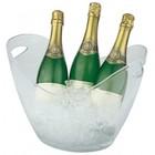 HorecaTraders Wine Cooler Plastic Silverstone