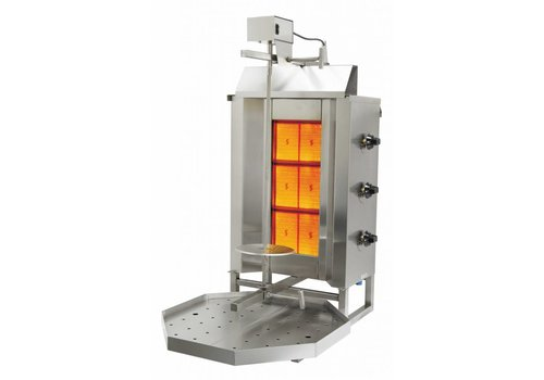 HorecaTraders Gas Doner / Gyrosgrill 2 Year Warranty