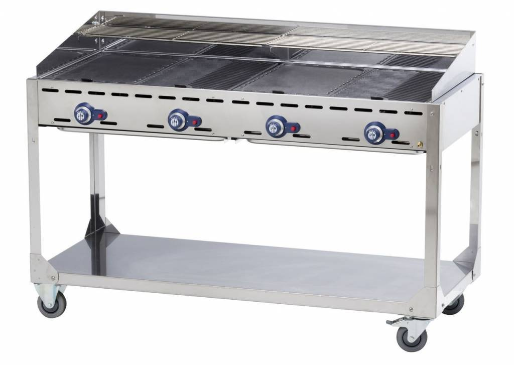 Professionele gasbarbecue kopen horecatraders for Giordano shop barbecue a gas