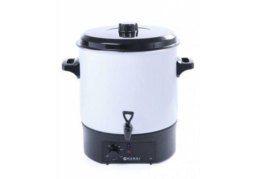 Hendi Witte warmedranken dispenser 27 Liter