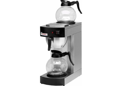 Hendi Hendi Koffiezetapparaat   2 glazen kannen