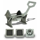HorecaTraders Patat cutter and French fries cutter of stainless steel