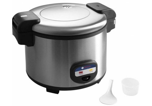 Hendi Stainless steel rice steamer 1950 Watt 12 liters