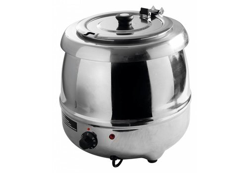 Hendi Soup kettle stainless steel   8 liters
