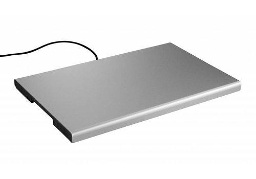 Hendi Warmhoudplaat Aluminium | GN 1/1