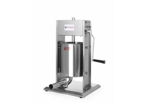 Hendi Professional Sausage filling machine 10 liters