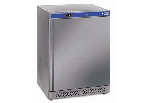 Diamond Kühlschrank Edelstahl 153 Liter