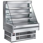 Diamond Carbon Counter INOX with four shelves 100 cm