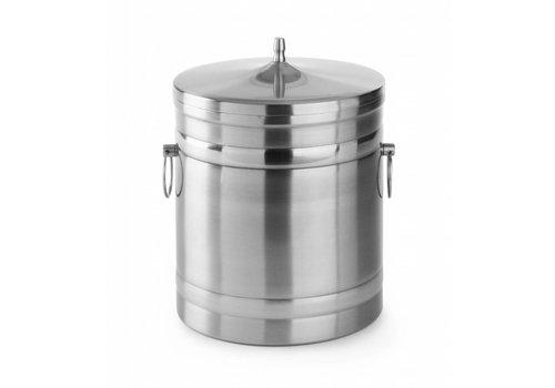 Hendi Ice cube bucket stainless steel 5 l