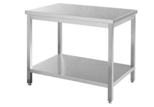 Hendi RVS Werktafel   5 Formaten