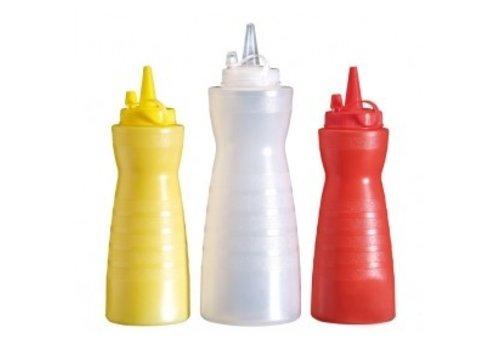 APS Sauce Squeeze Flasche Ø7x21 cm | 3 Farben