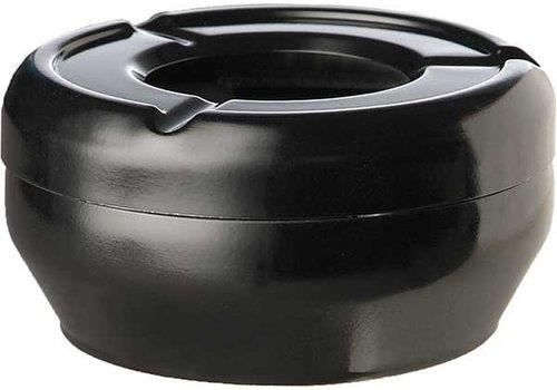 APS Aschenbecher Black Runde stapelbare Ø12x4,3cm