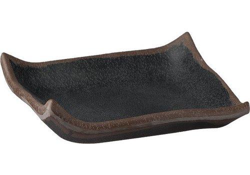 APS Luxus Melamin Schale | schwarz