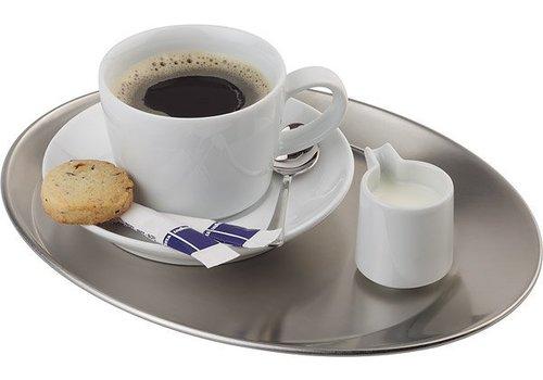 APS Kaffee Servierplatte | matt poliert