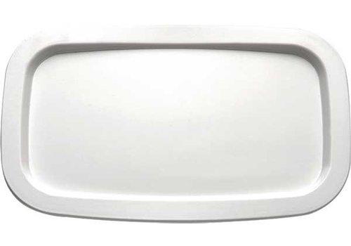 APS Skalieren rechteckigen weißen Melamin | 1/4 GN