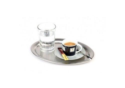 APS Koffiekop Serveerschaal Ovaal Hoogglans 29x22 cm