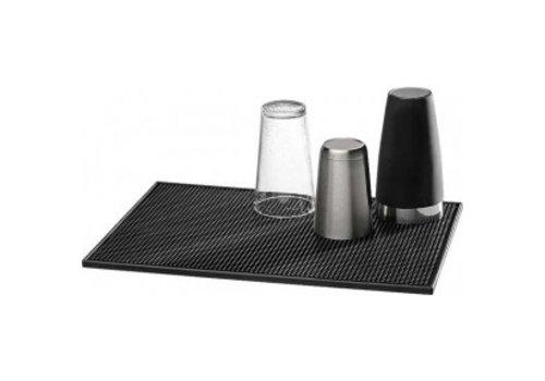 APS Bar mat Zwart | 30 x 15 cm