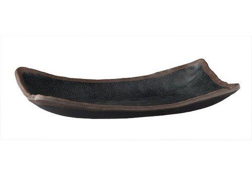 APS Serving Schüssel Melamin schwarz | 27x17cm
