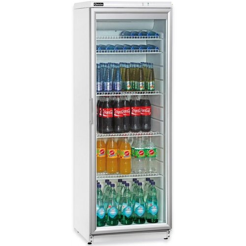 Refrigerator with a glass door