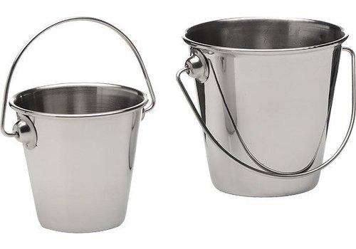 APS 4 mini stainless steel buckets