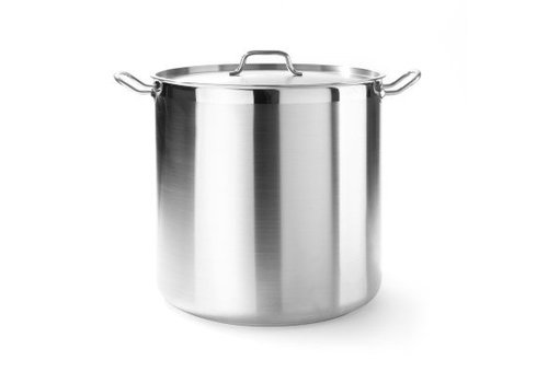 Hendi Kookpan met Deksel Professioneel | 7 Formaten
