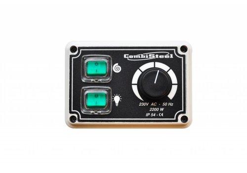 HorecaTraders Ventilatie Toerenregelaar 1 Fase 10 Ampere