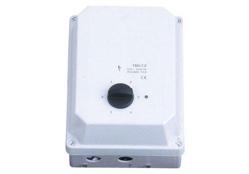 HorecaTraders Zustandsregler Lüftung 1 Stufe 5 Ampere