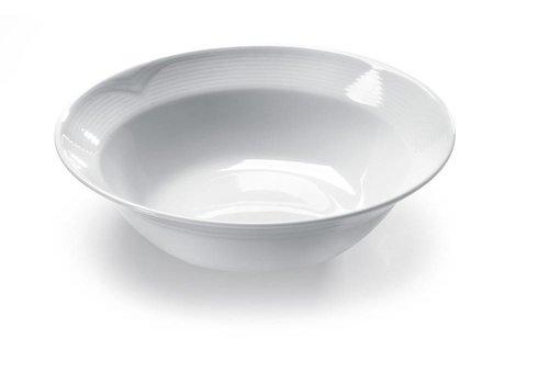 Hendi Hendi Salade Schaal Porselein Witte | 25 cm (6 stuks)