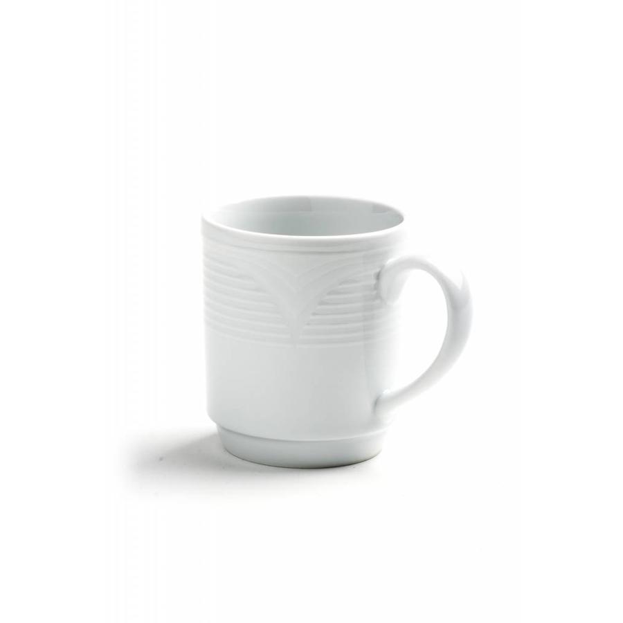Hendi Porcelain Coffee Tea Mug 300ml 6 Pieces